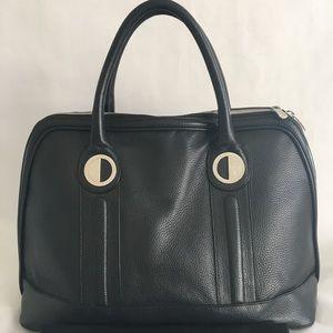 Versace Collection Medusa Borsa Black Leather Bag